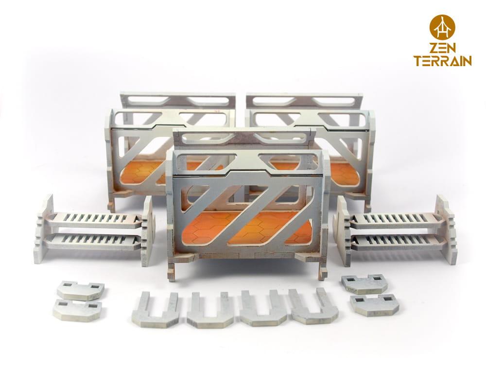 Modular Bridge Zen Terrain