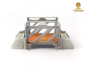 Modular bridge - straight module