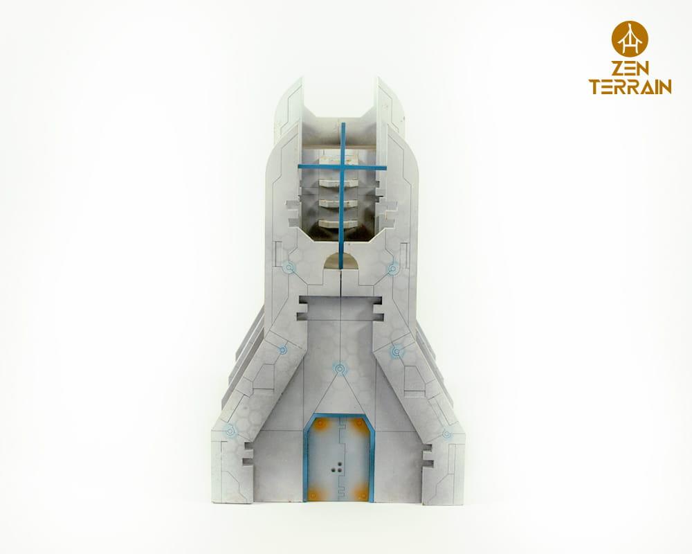 Futuristic Chapel Zen Terrain